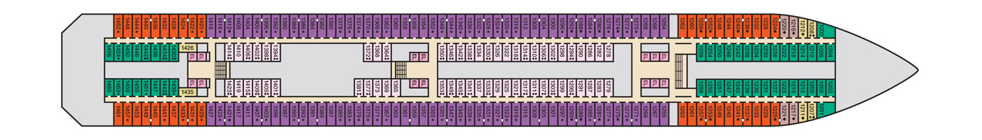 Carnival Cruise Lines Carnival Conquest Deck Plans Deck 1.jpg