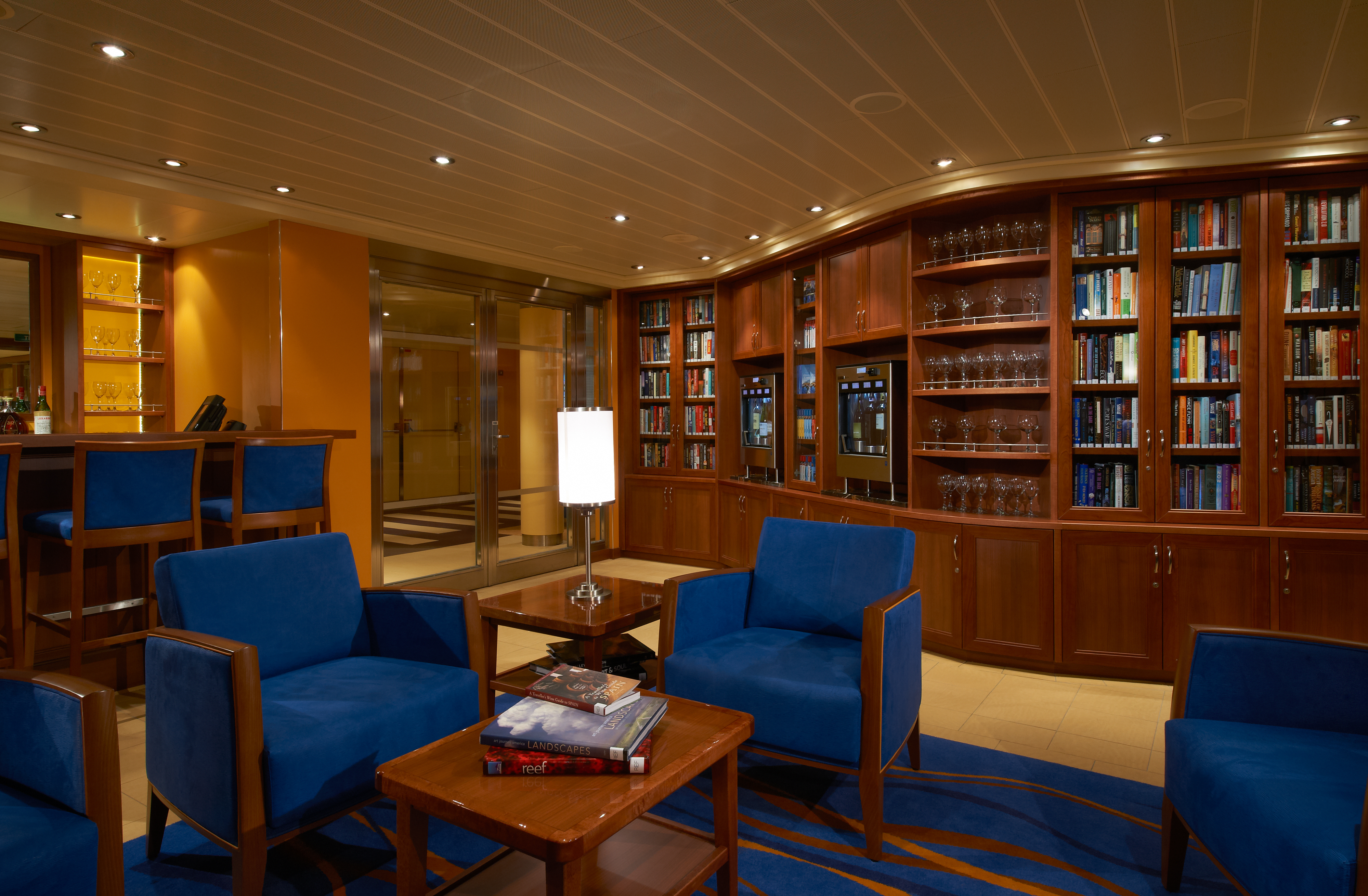 Carnival Cruise Lines Carnival Breeze Library Bar 1.jpg