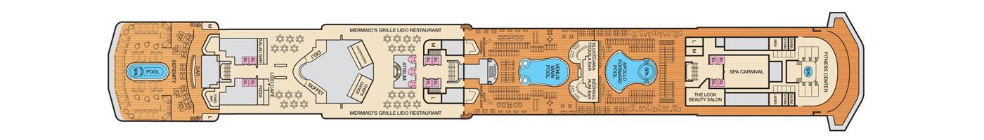 Carnival Cruise Lines Carnival Pride Deck Plans Deck 9 jpg.jpg