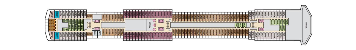 Carnival Cruise Lines Carnival Pride Deck Plans Deck 8 jpg.jpg