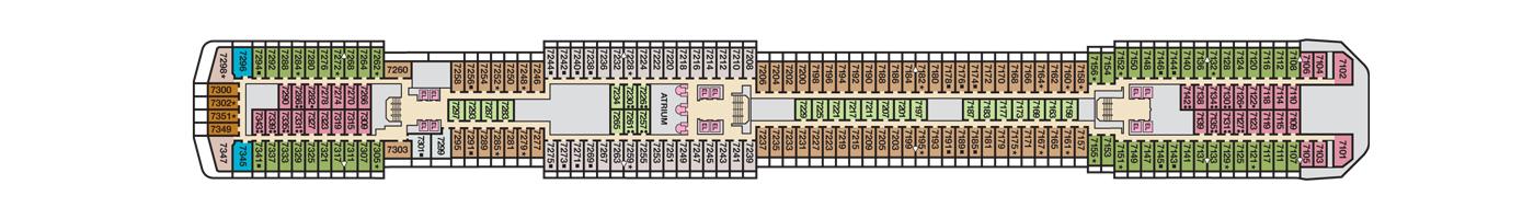 Carnival Cruise Lines Carnival Pride Deck Plans Deck 7 jpg.jpg