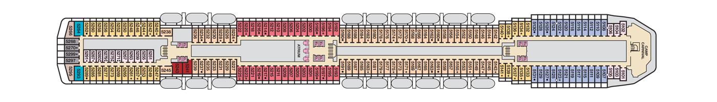 Carnival Cruise Lines Carnival Pride Deck Plans Deck 5 jpg.jpg