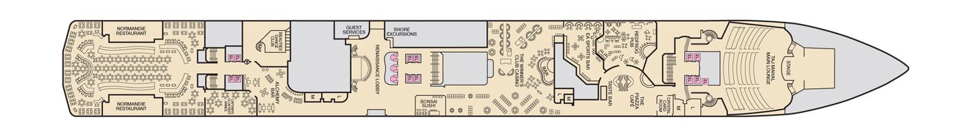 Carnival Cruise Lines Carnival Pride Deck Plans Deck 2 jpg.jpg
