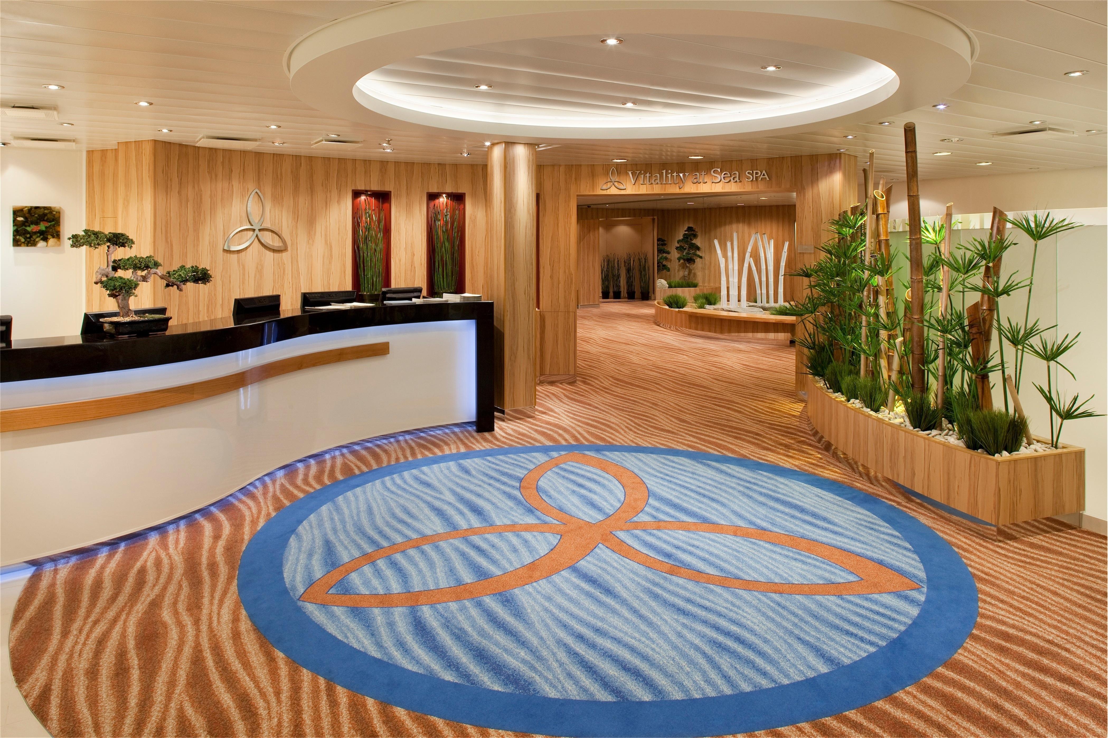 Royal Caribbean International Allure of the Seas Interior Spa Reception.jpg