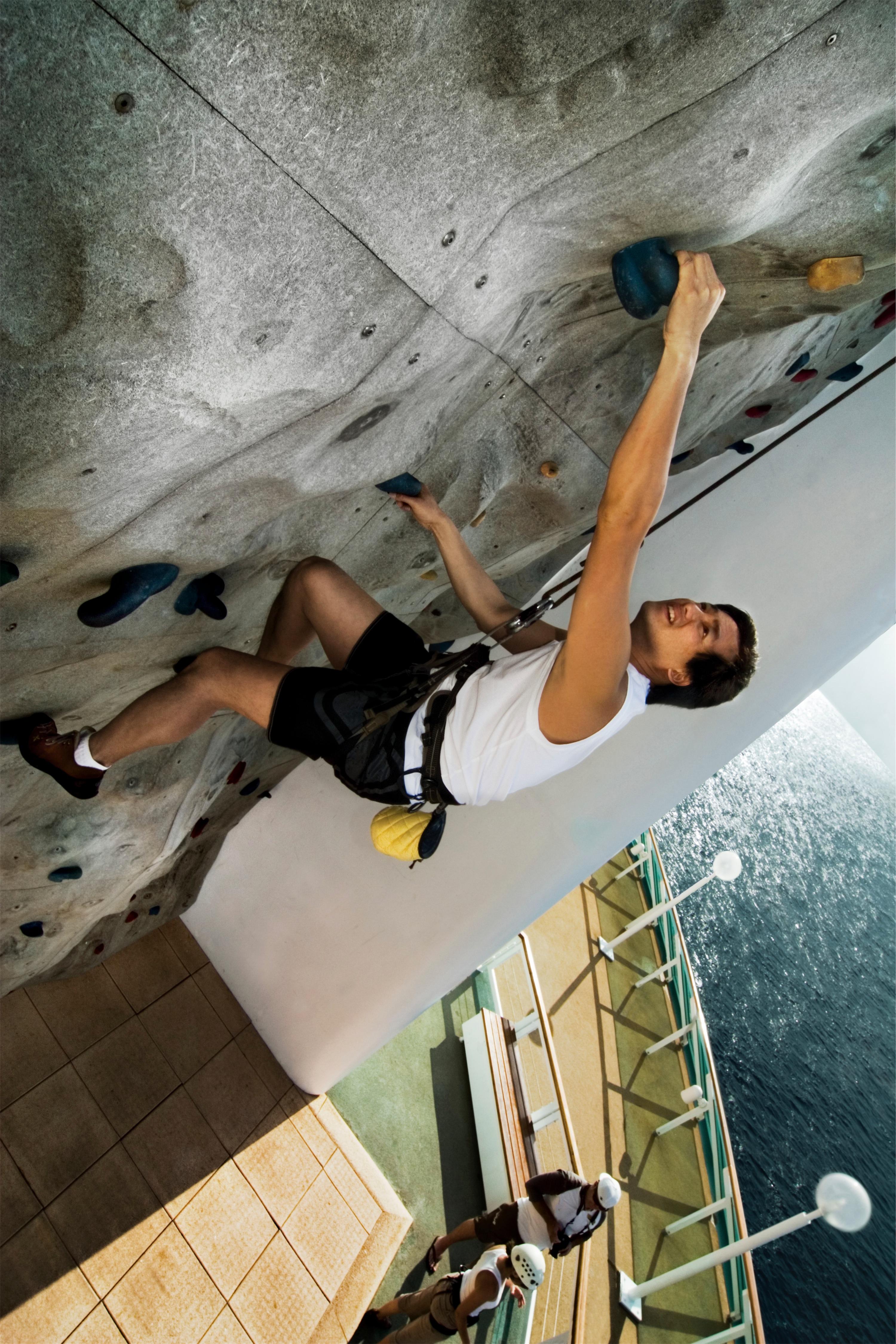 Royal Caribbean International Rhapsody of the Seas Exterior Climbing Wall 6045.jpg