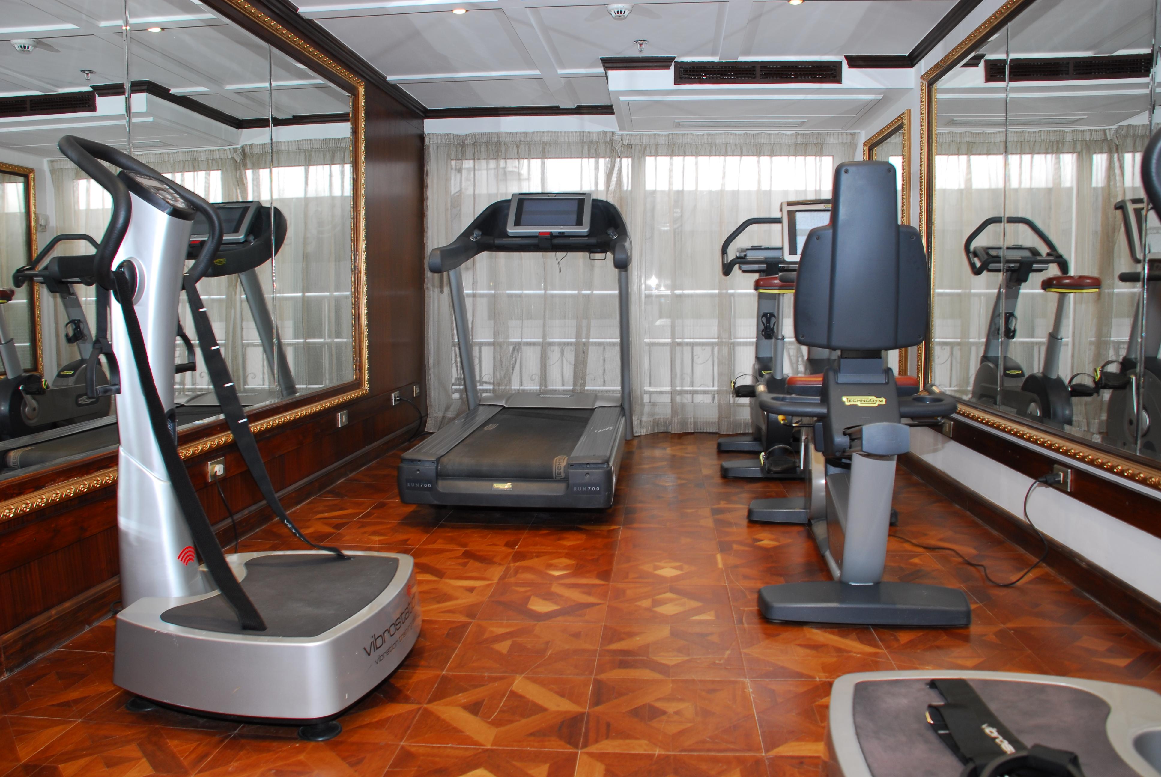 UNIWORLD Boutique River Cruises River Tosca Interior Fitness Centre.JPG