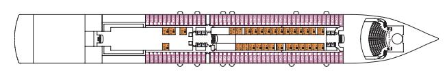 Costa Cruises Costa Luminosa Deck Plans Corallo.png