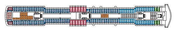 Costa Cruises Costa Luminosa Deck Plans Topazio.png