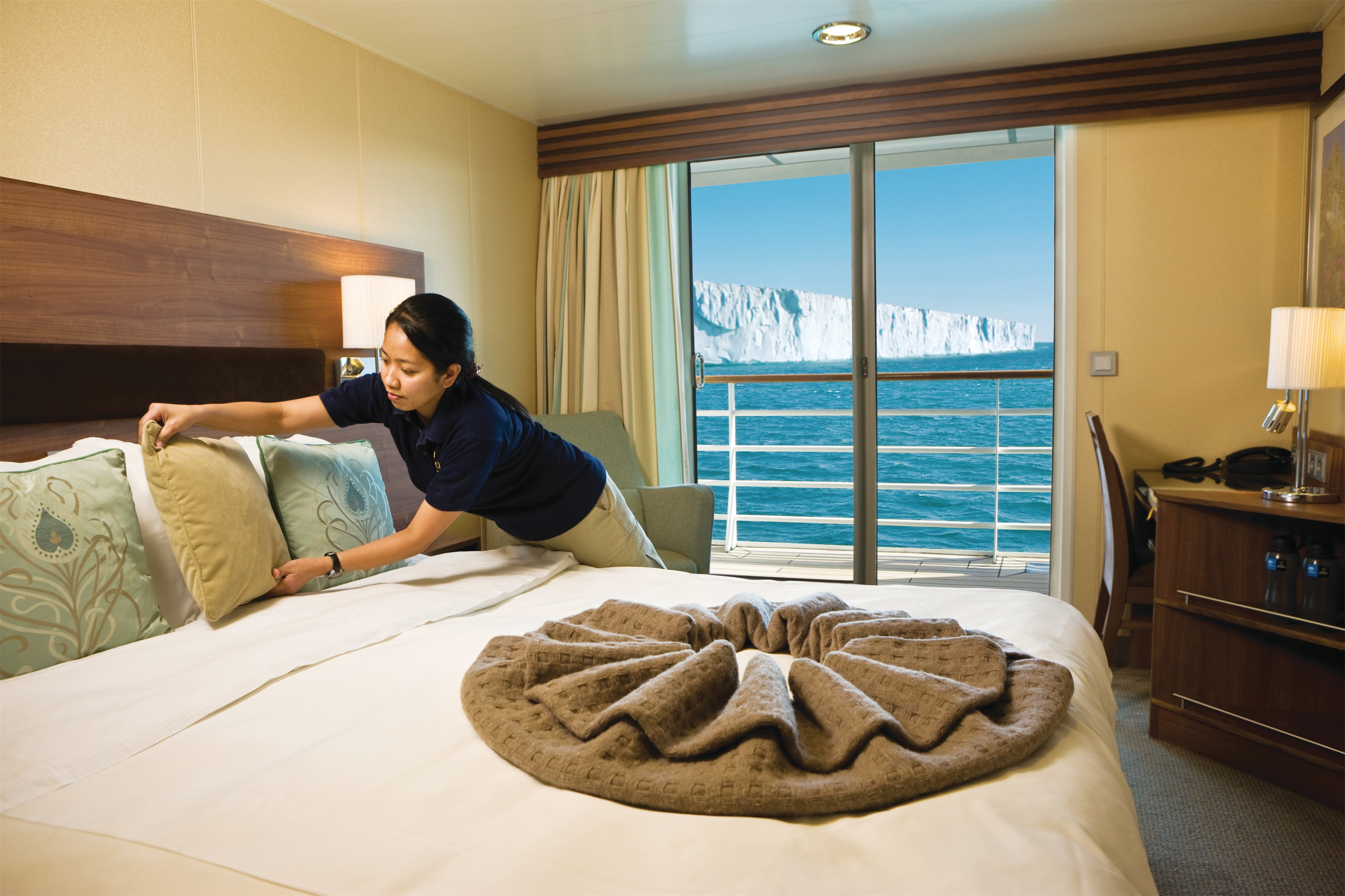 Lindblad Expeditions National Geographic Explorer Accommodation Upper Deck Cabin with Balcony.jpg