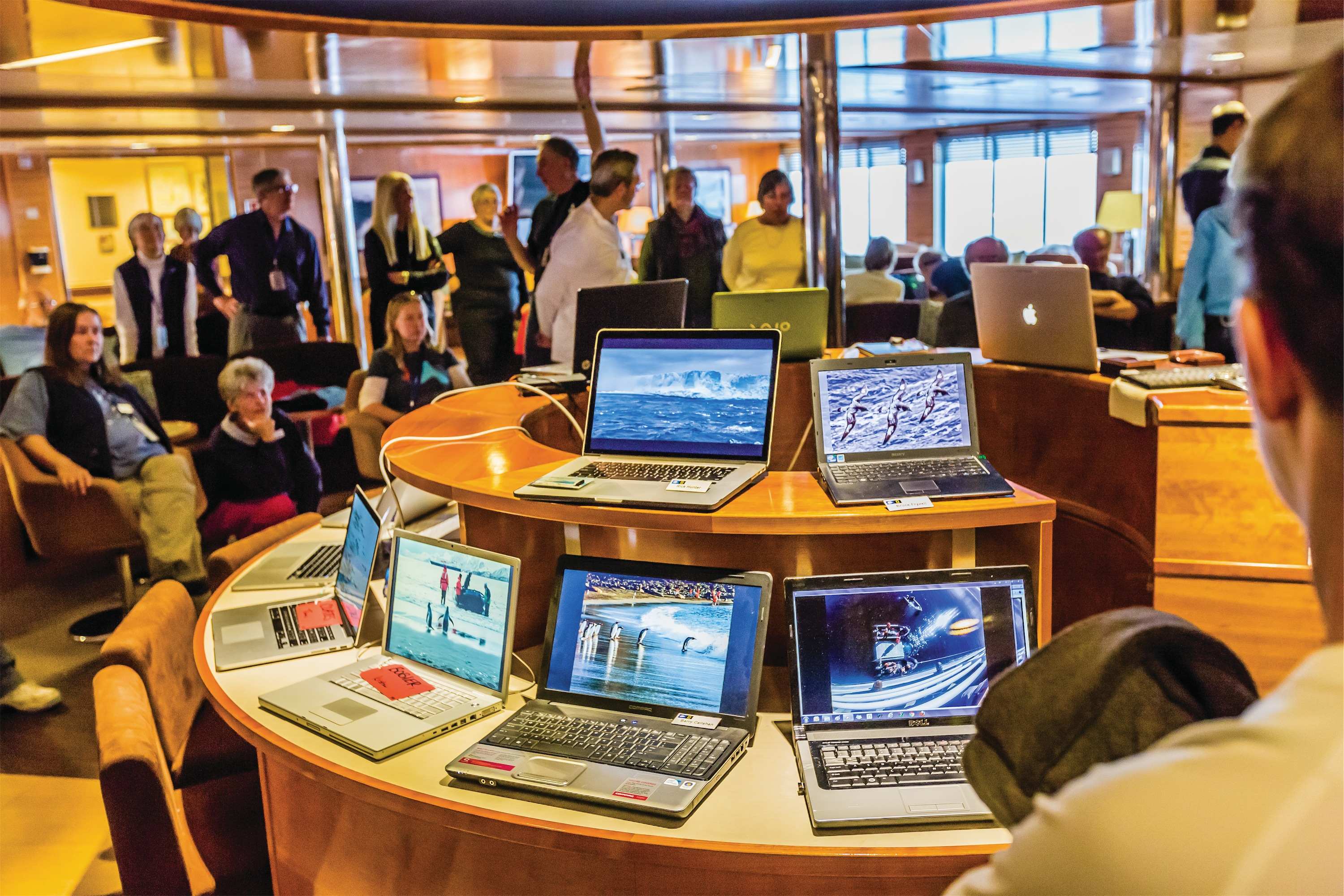 Lindblad Expeditions National Geographic Explorer Interior Lounge Laptop Gallery.jpg