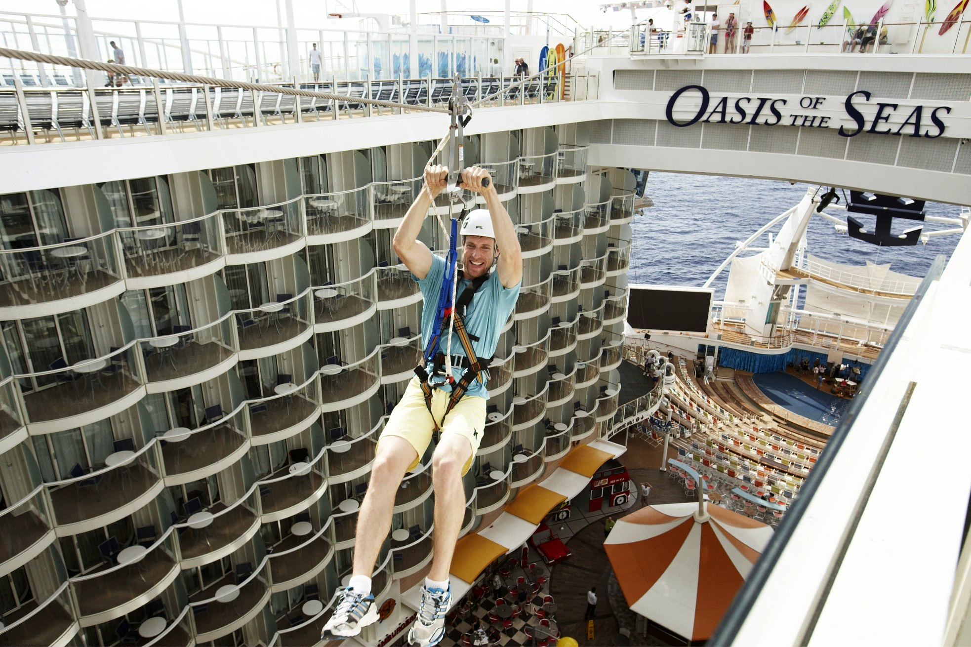 Royal Caribbean International Oasis of the Seas Exterior ZIPLINE UK 094.jpg
