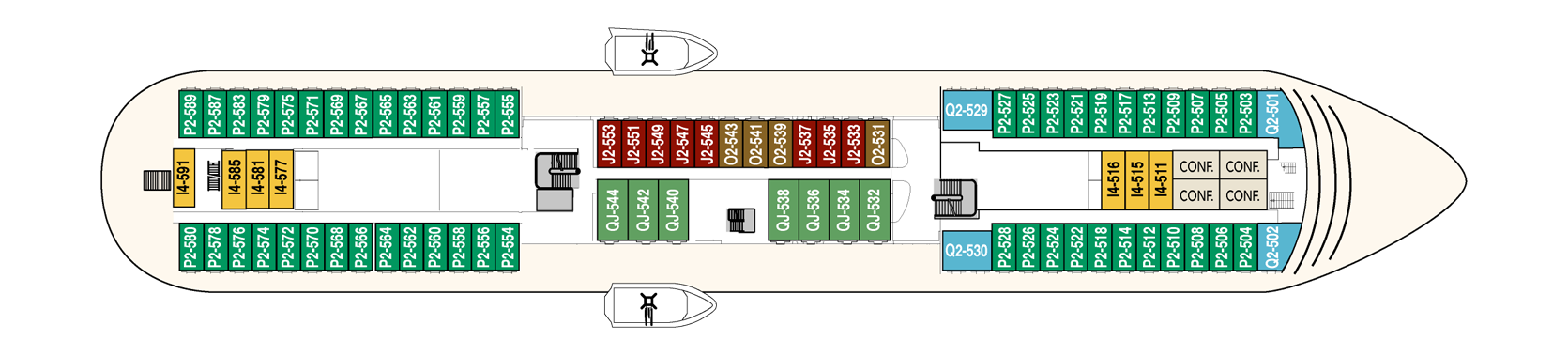 Hurtigruten MS Finnmarken Deck Plans Deck 5.png