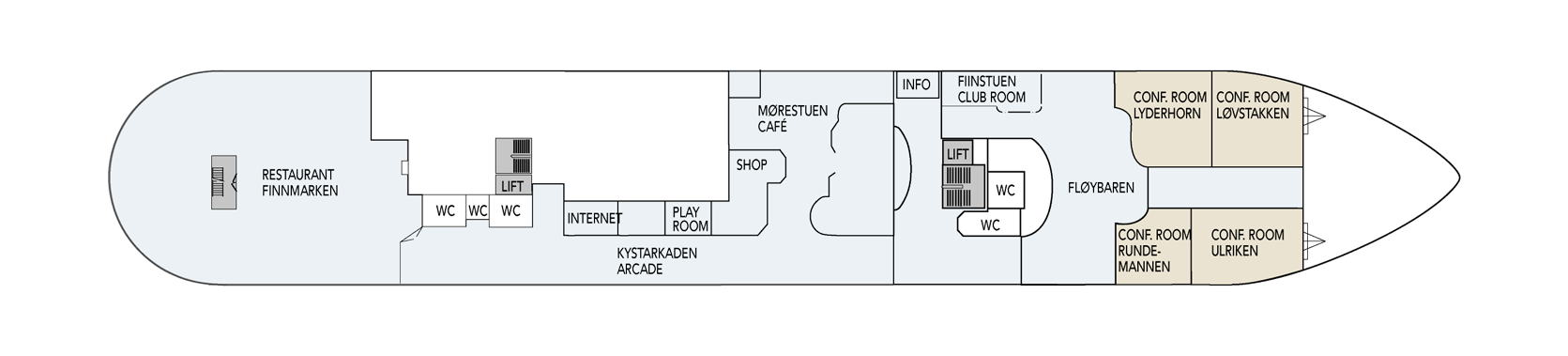 Hurtigruten MS Finnmarken Deck Plans Deck 4.png