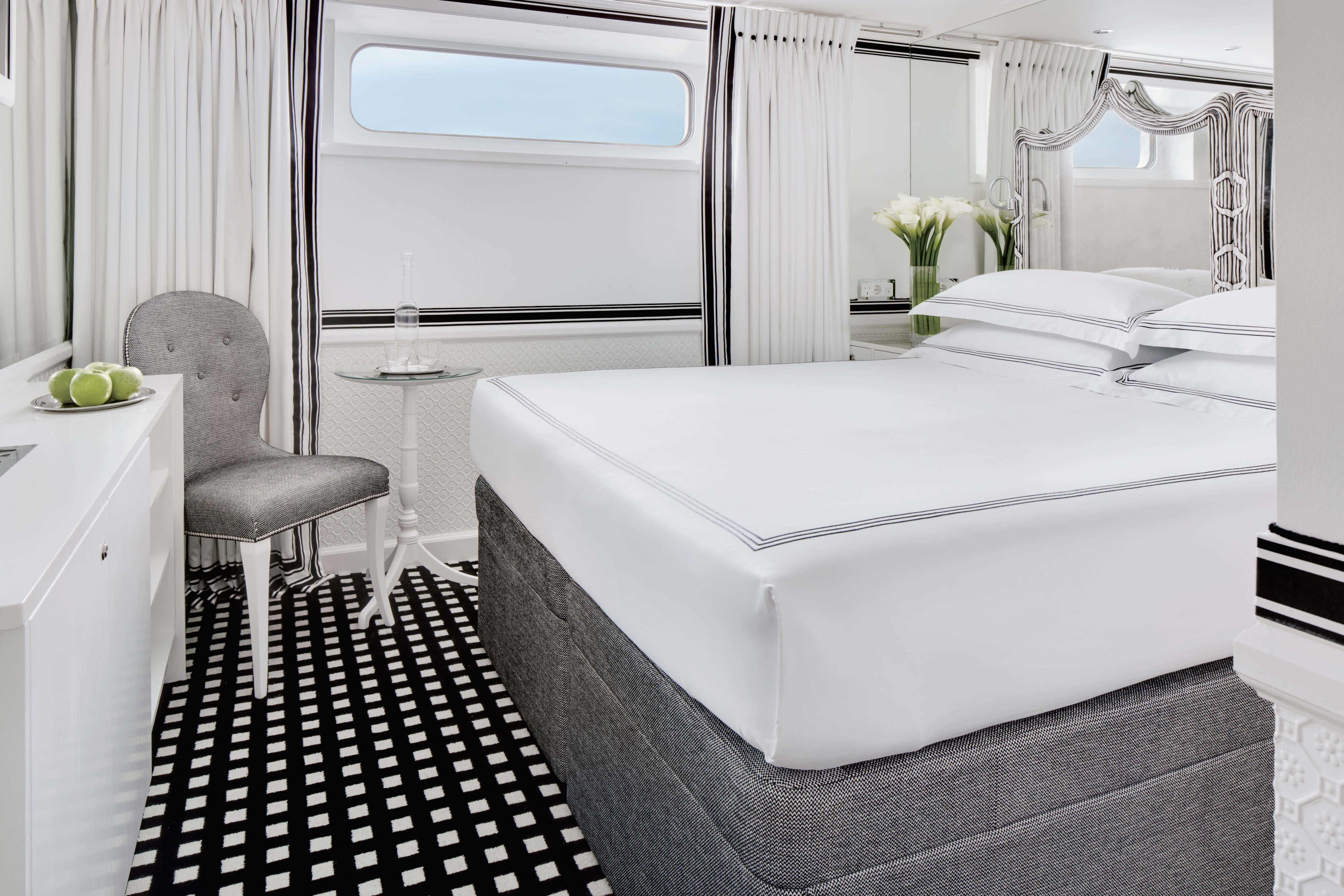 Category 4 & 5 Staterooms