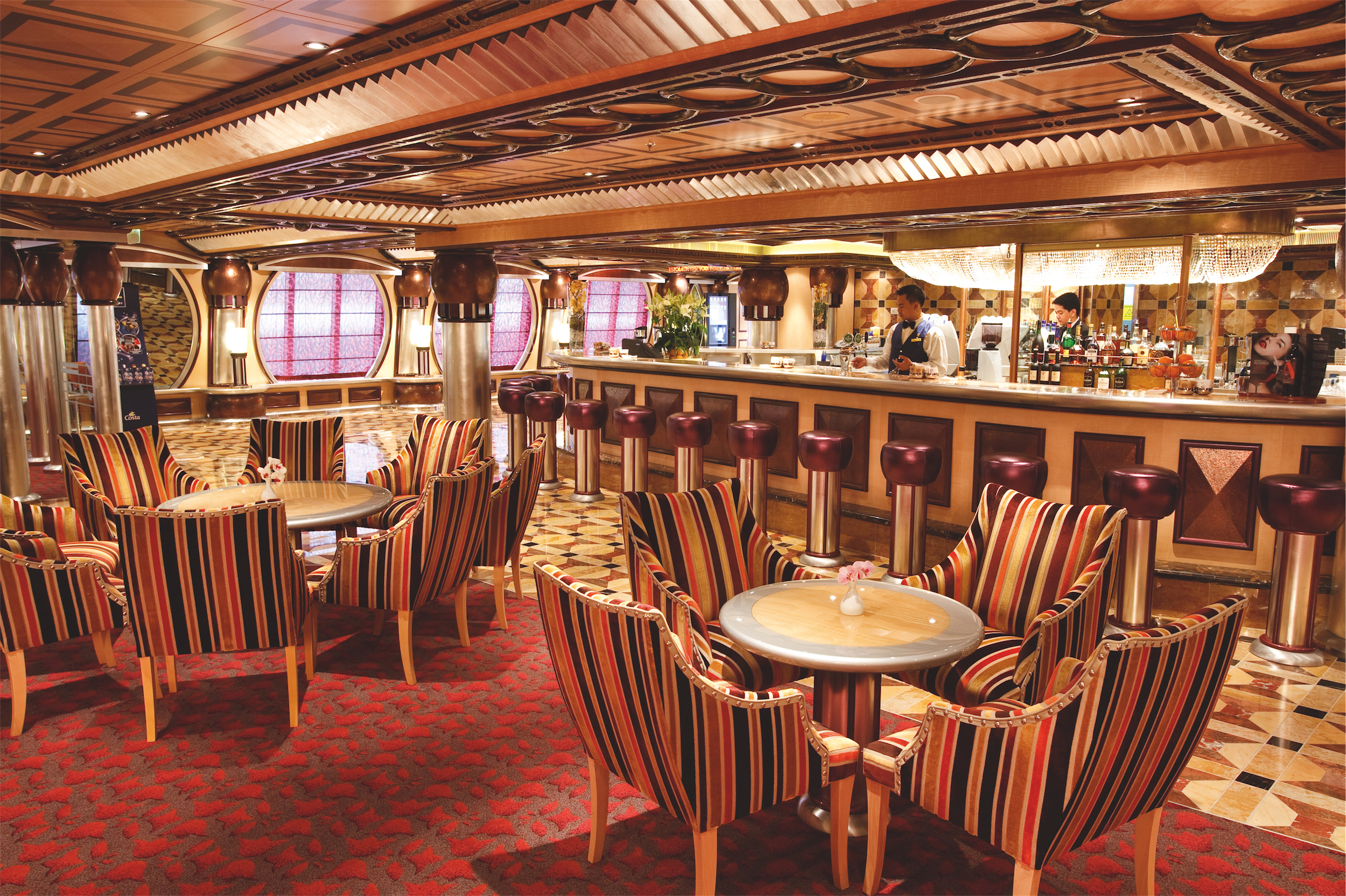 Costa Cruises Costa Pacifica Interior Grand Bar Rhapsody 2.JPG