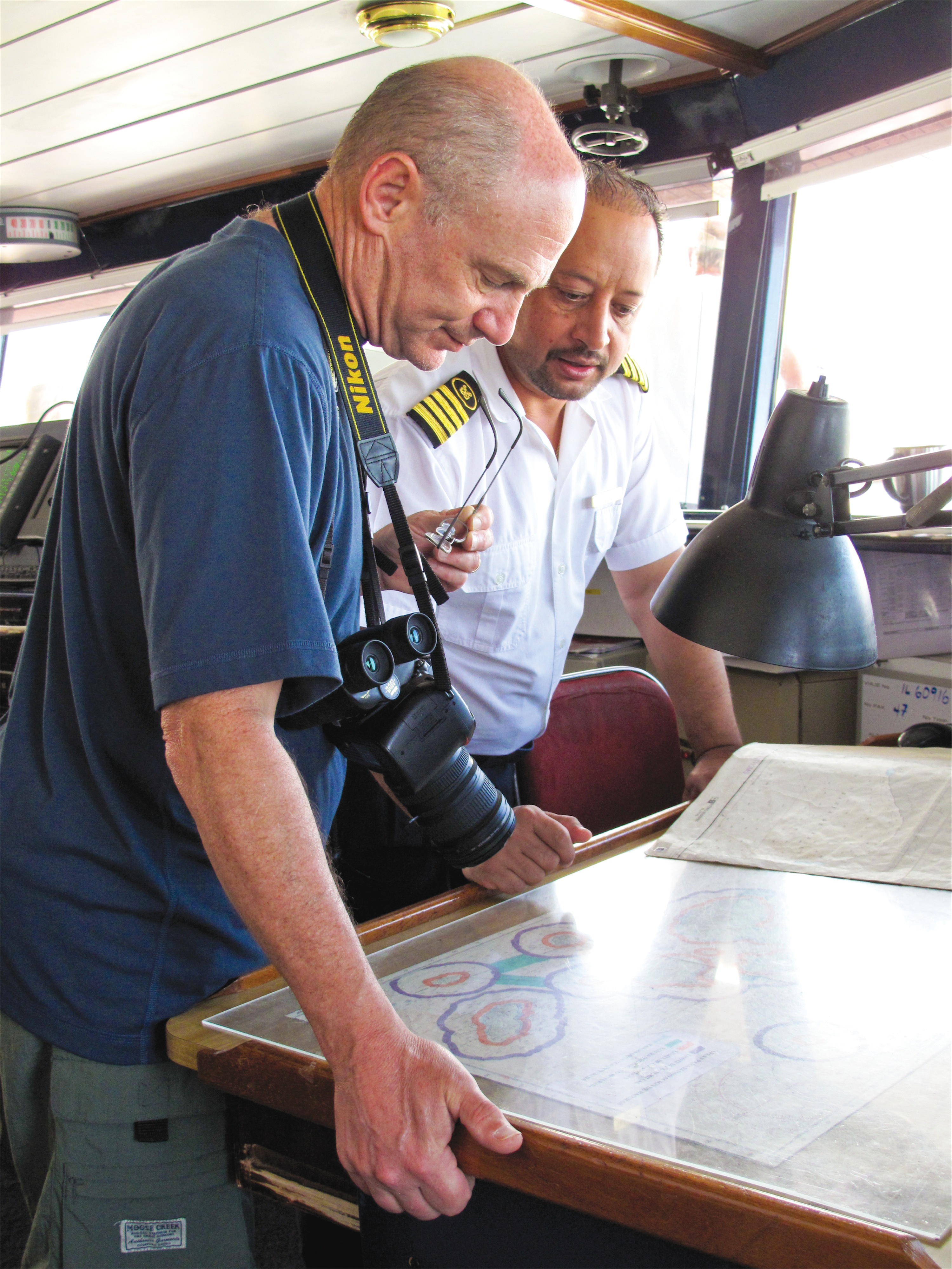 Lindblad Expeditions National Geographic Islander Interior Bridge.jpg