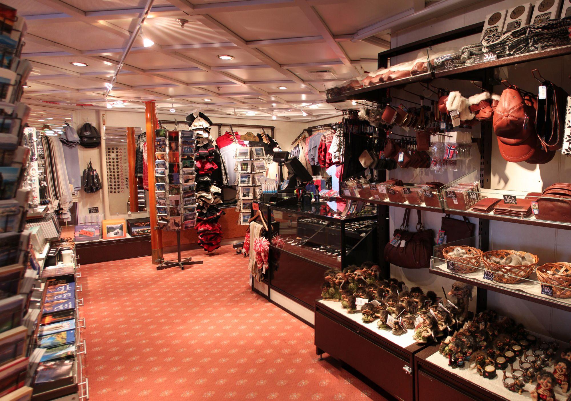 Hurtigruten Cruise Lines MS Vesteralen Interior Shops.jpg