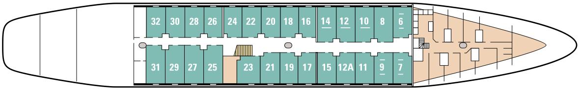 Ponant Le Ponant Deck Plans Deck 2 Marie-Galante Deck.jpg