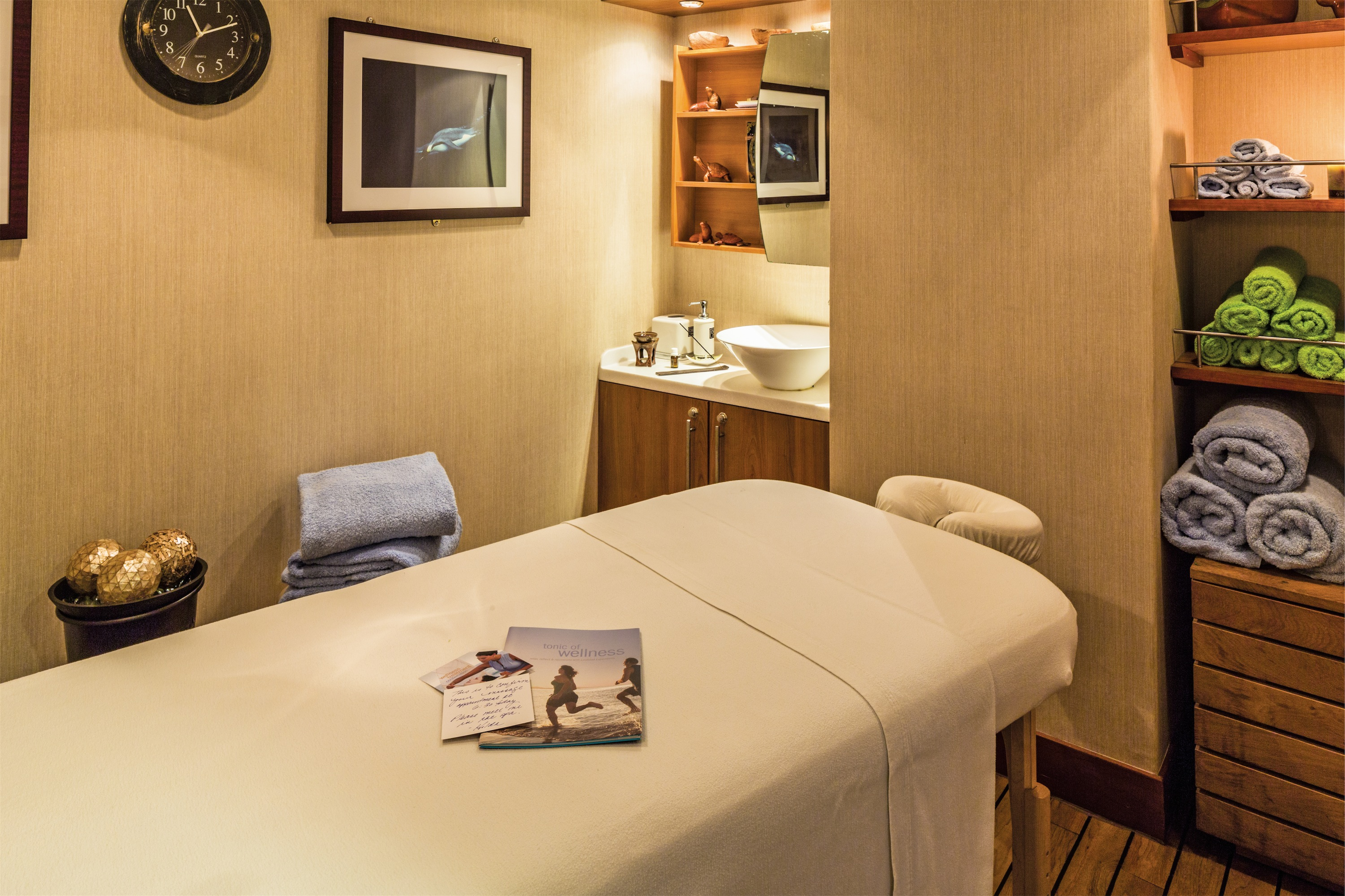 Lindblad Expeditions National Geographic Endeavour Interior Spa Massage Table.jpg