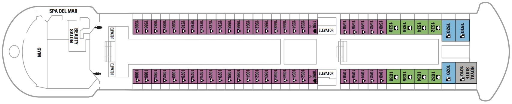 Pullmantur Sovereign Deck Plans Deck 10.jpg