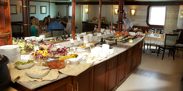 Avalon Waterways Isabella II Interior Restaurant Buffet.jpg