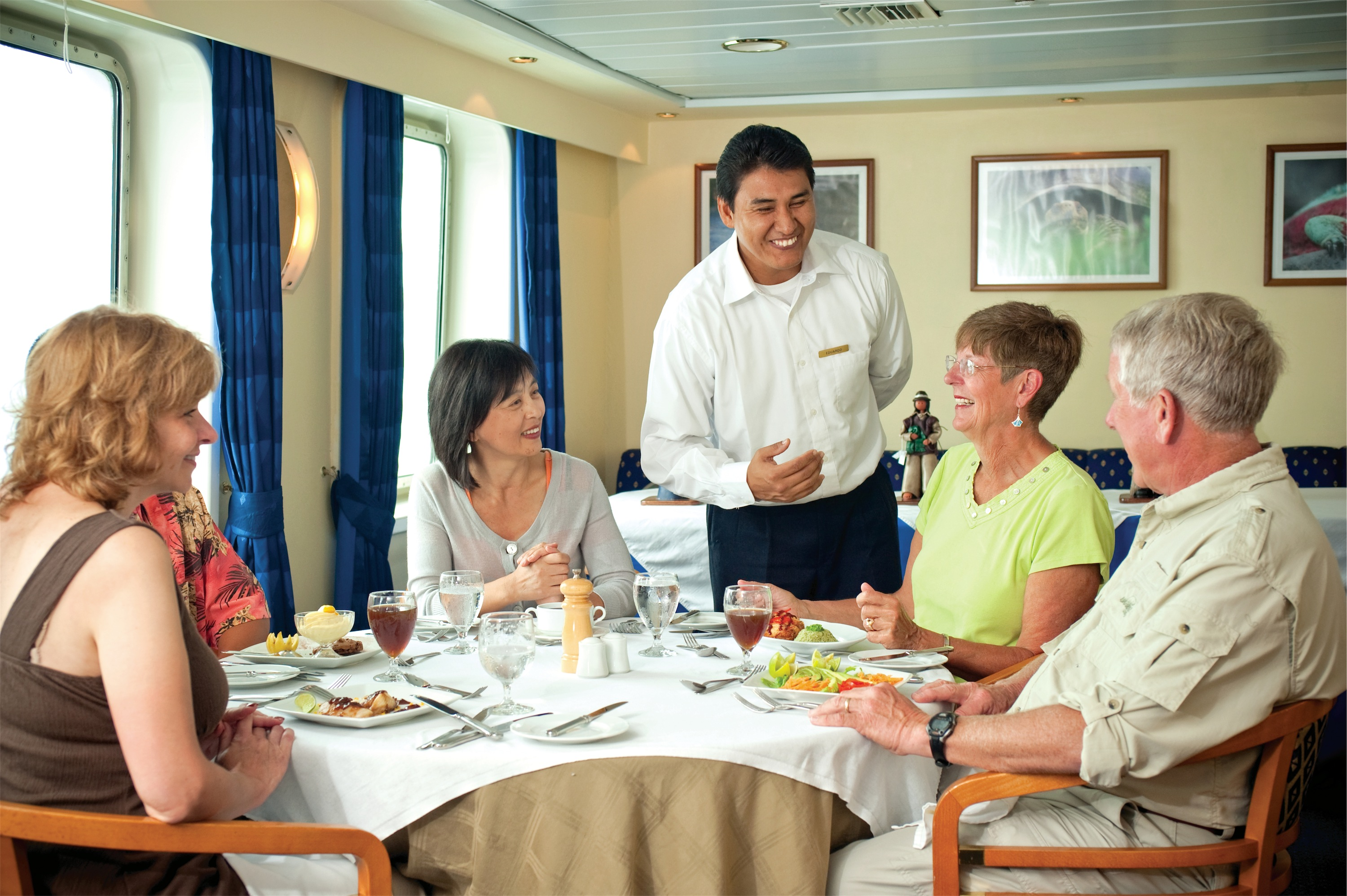 Lindblad Expeditions National Geographic Endeavour Interior Dining.jpg