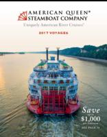 American Queen Steamboat Company 2017 Deluxe Brochure