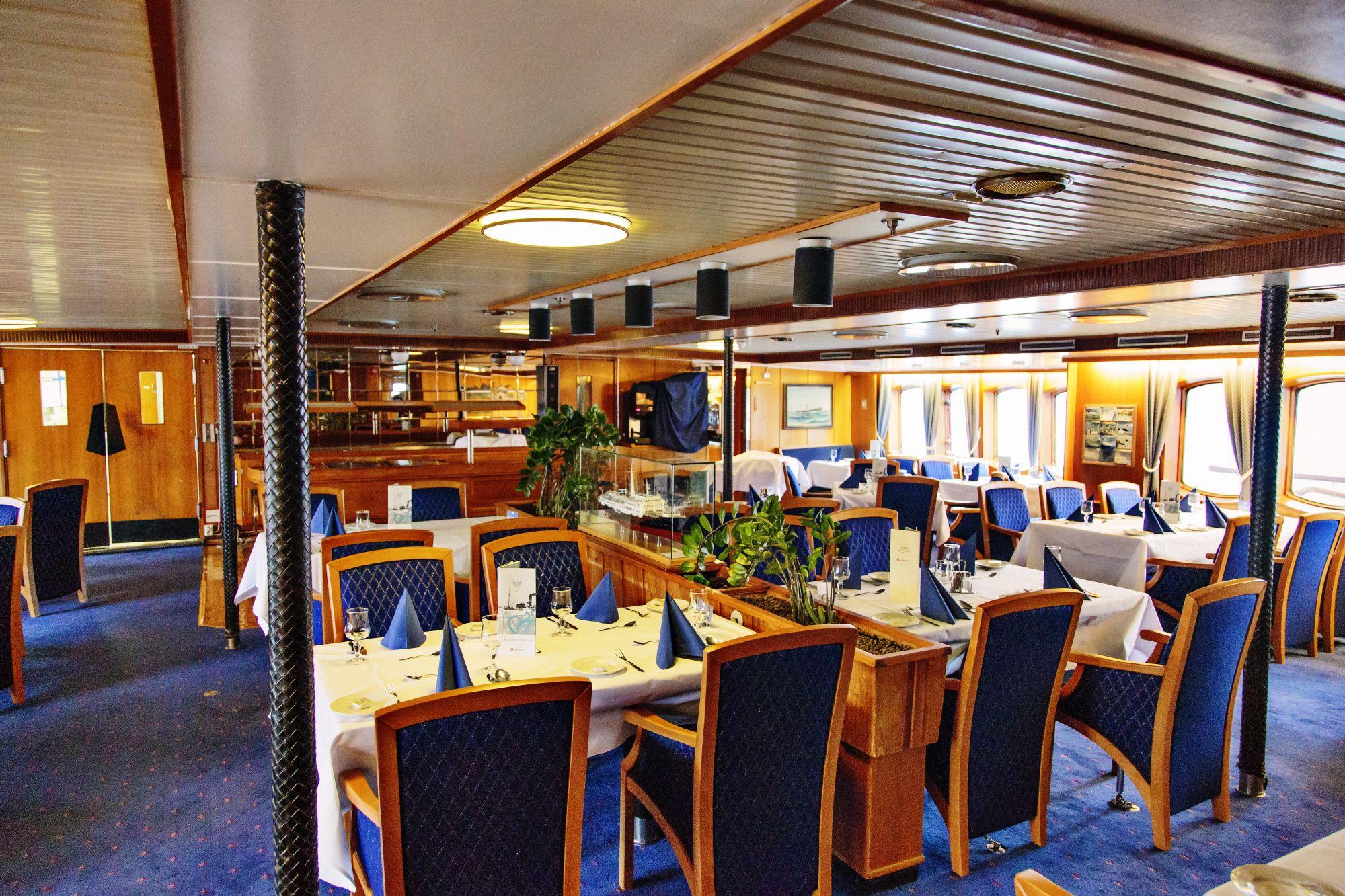 Hurtigruten Cruise Lines MS Lofoten Interior Dining Room 2.jpg