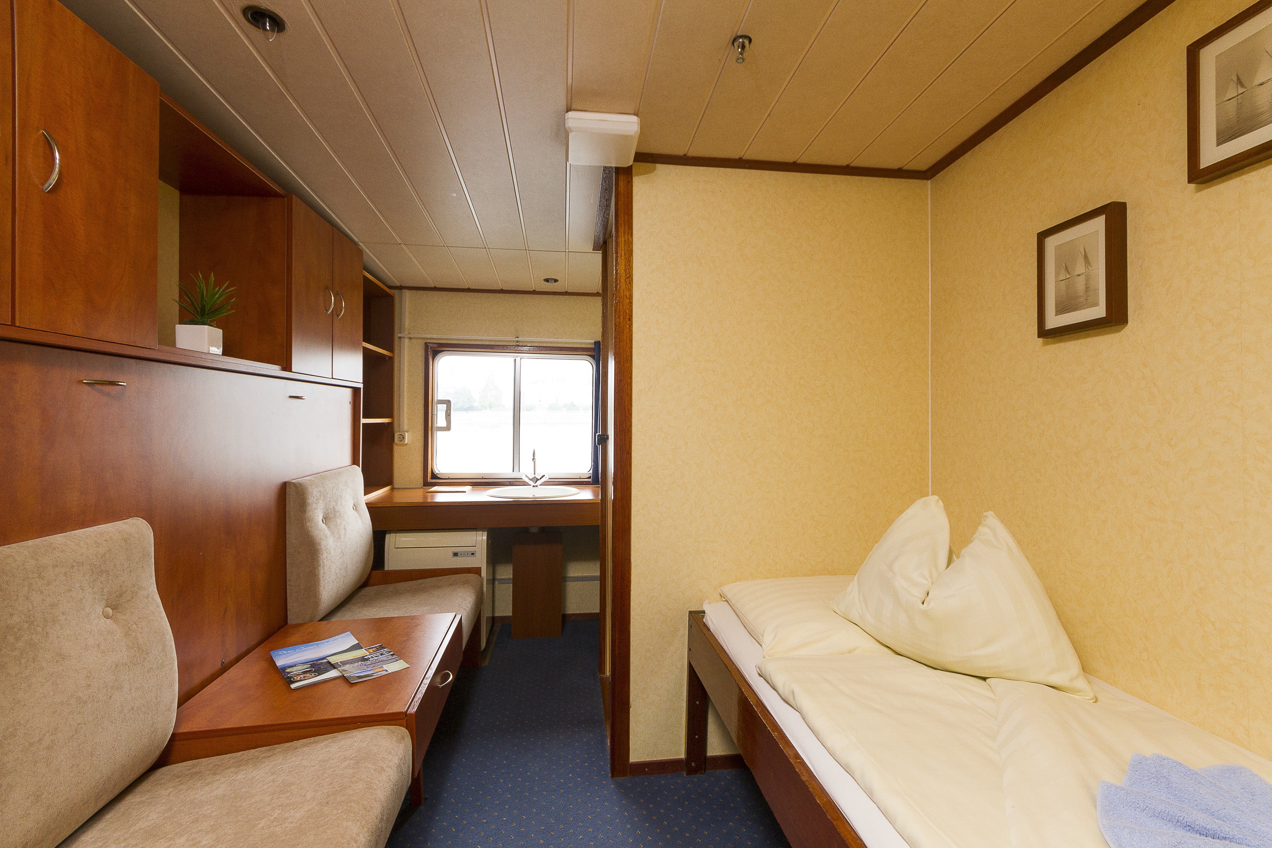 The River Cruise Line MPS Lady Anne Accommodation Main Deck Standard 2 Berth.jpg