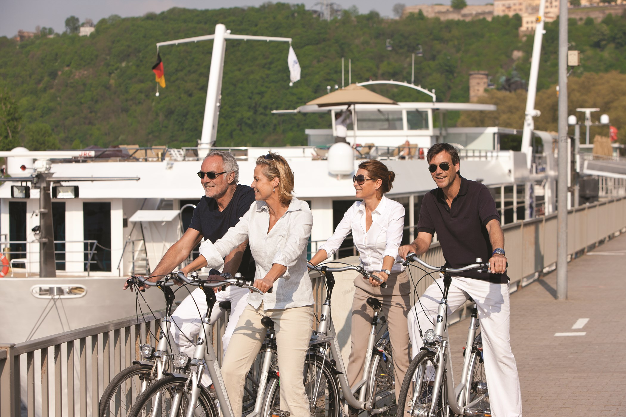 UNIWORLD Boutique River Cruises SS Antoinette Exterior Bikes 1.jpg