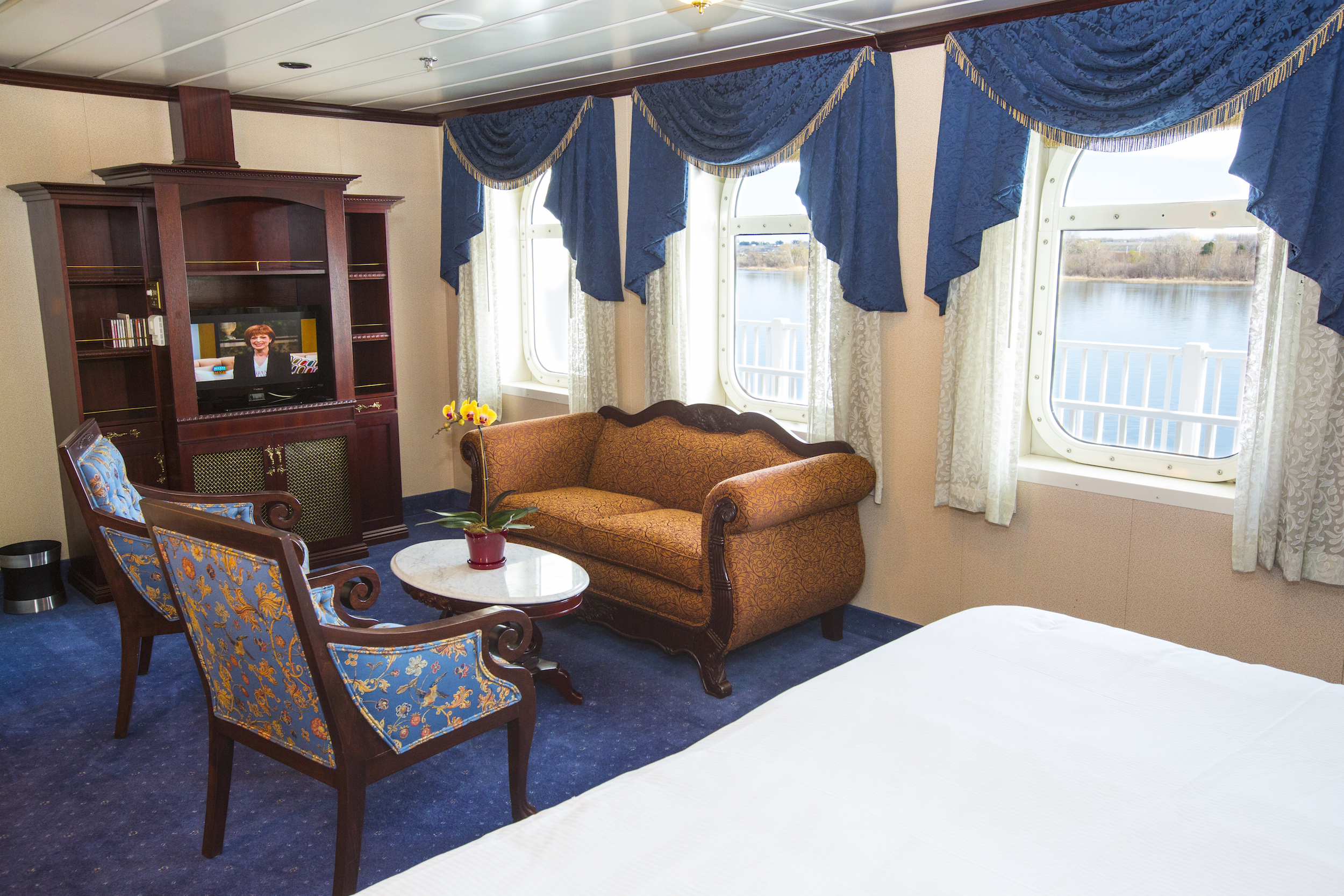 American Queen Steamboat Company American Empress Accommodation Suite with Veranda.jpg