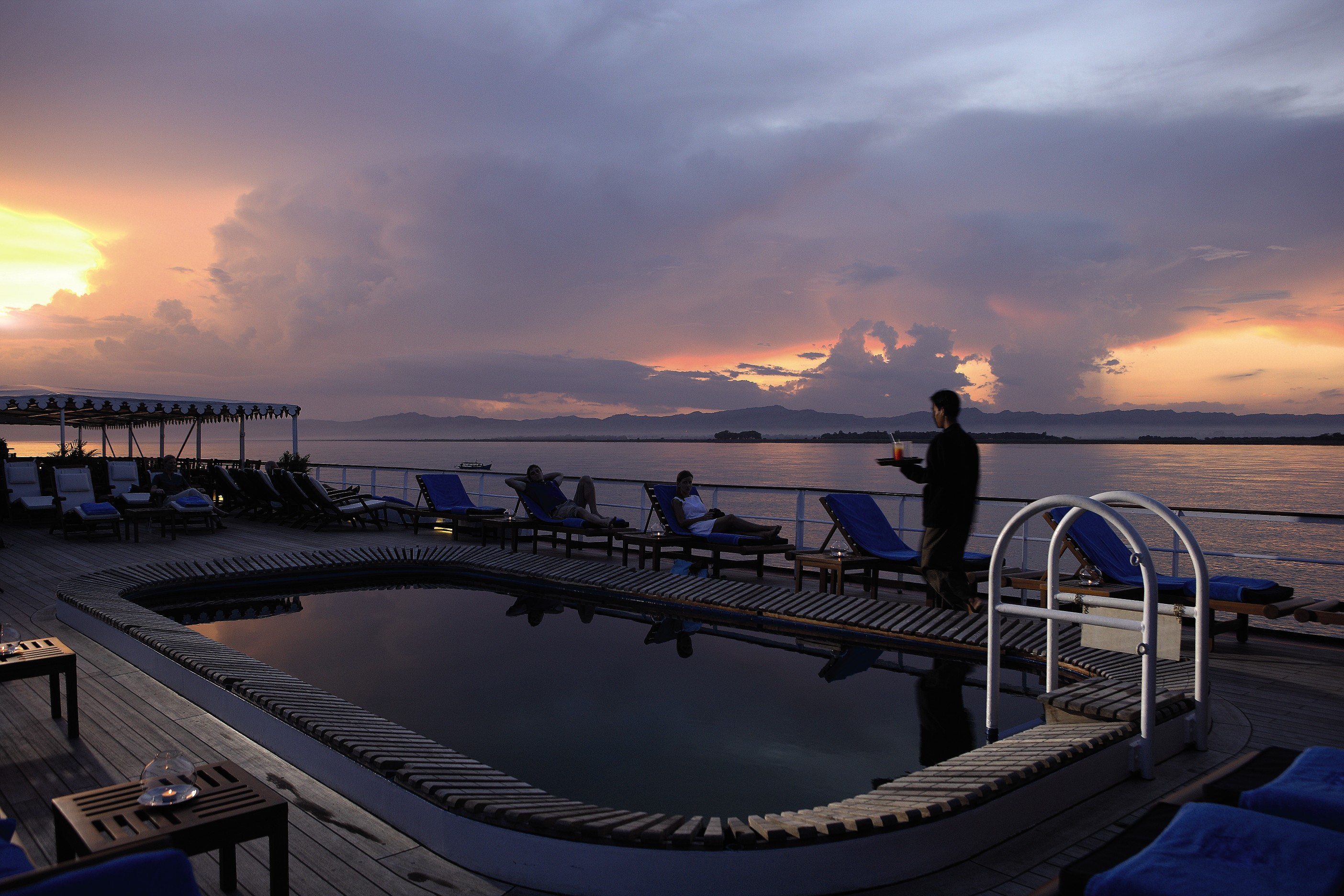 Belmond River Cruises Road to Mandalay Exterior Pool 03.jpg