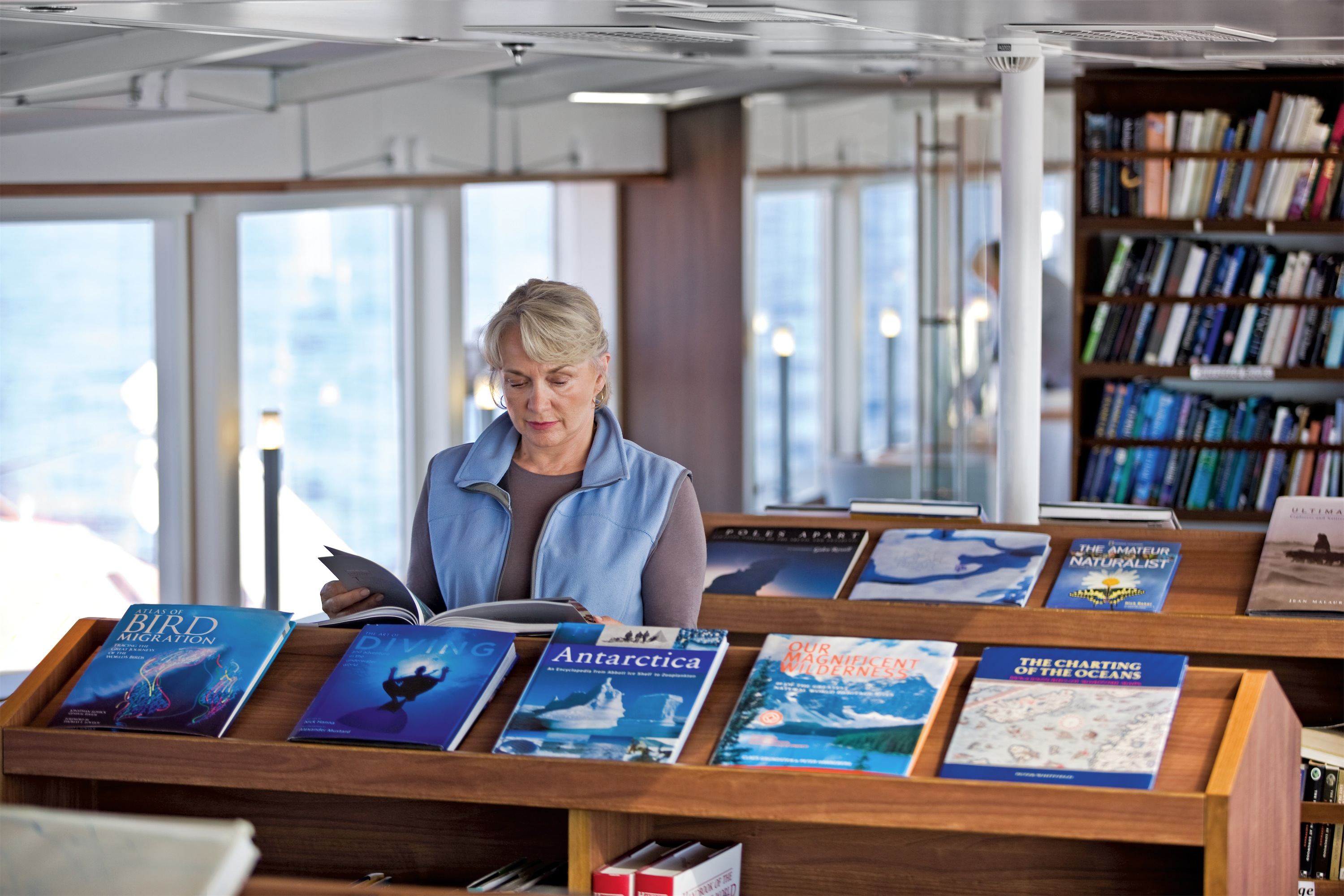 Lindblad Expeditions National Geographic Explorer Interior Library 2.jpg