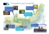 Lepe country park map