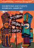 Exhibitions events oct 2016 jan 2017