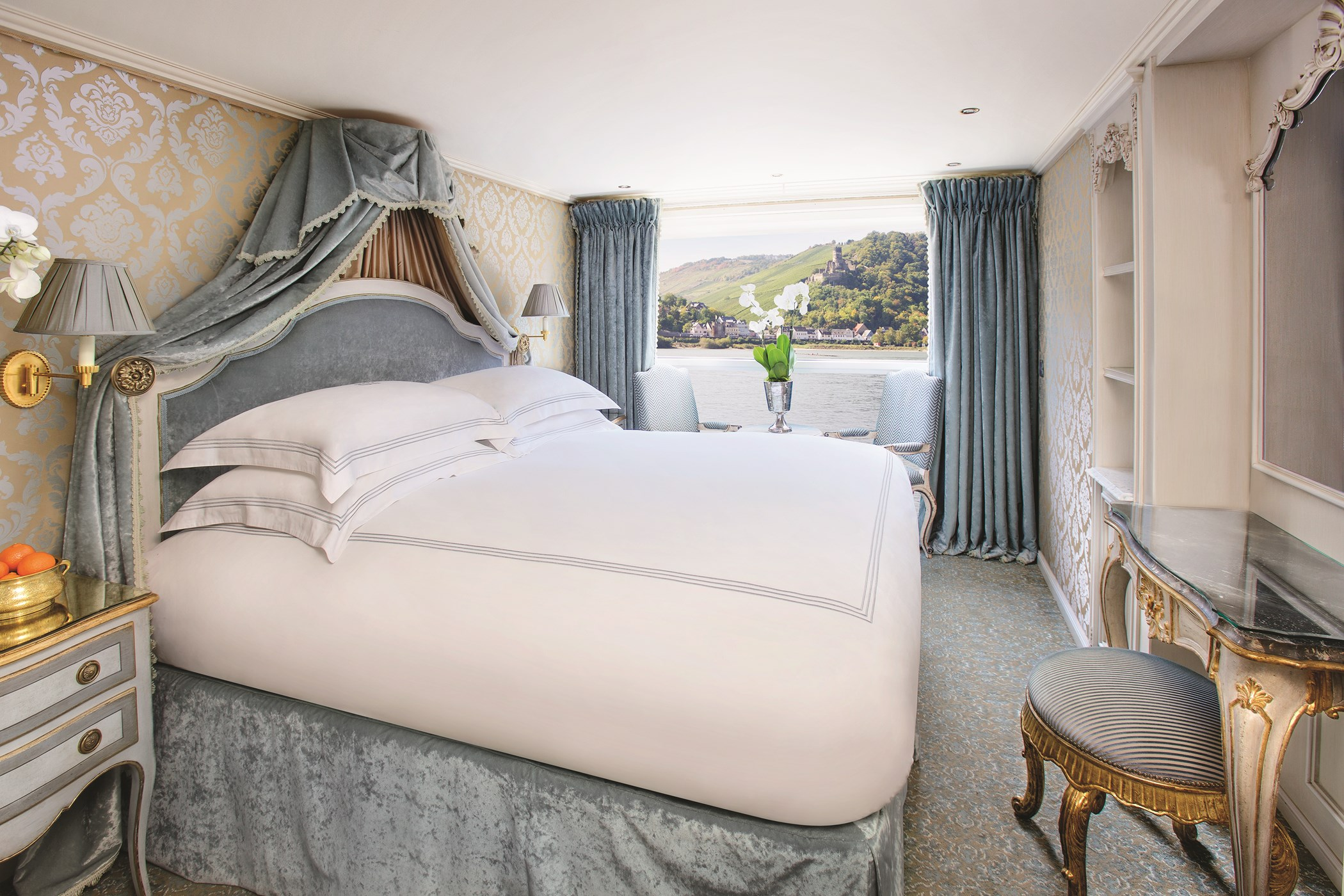 UNIWORLD Boutique River Cruises SS Maria Theresa Accommodation Stateroom Category 3 4.jpg
