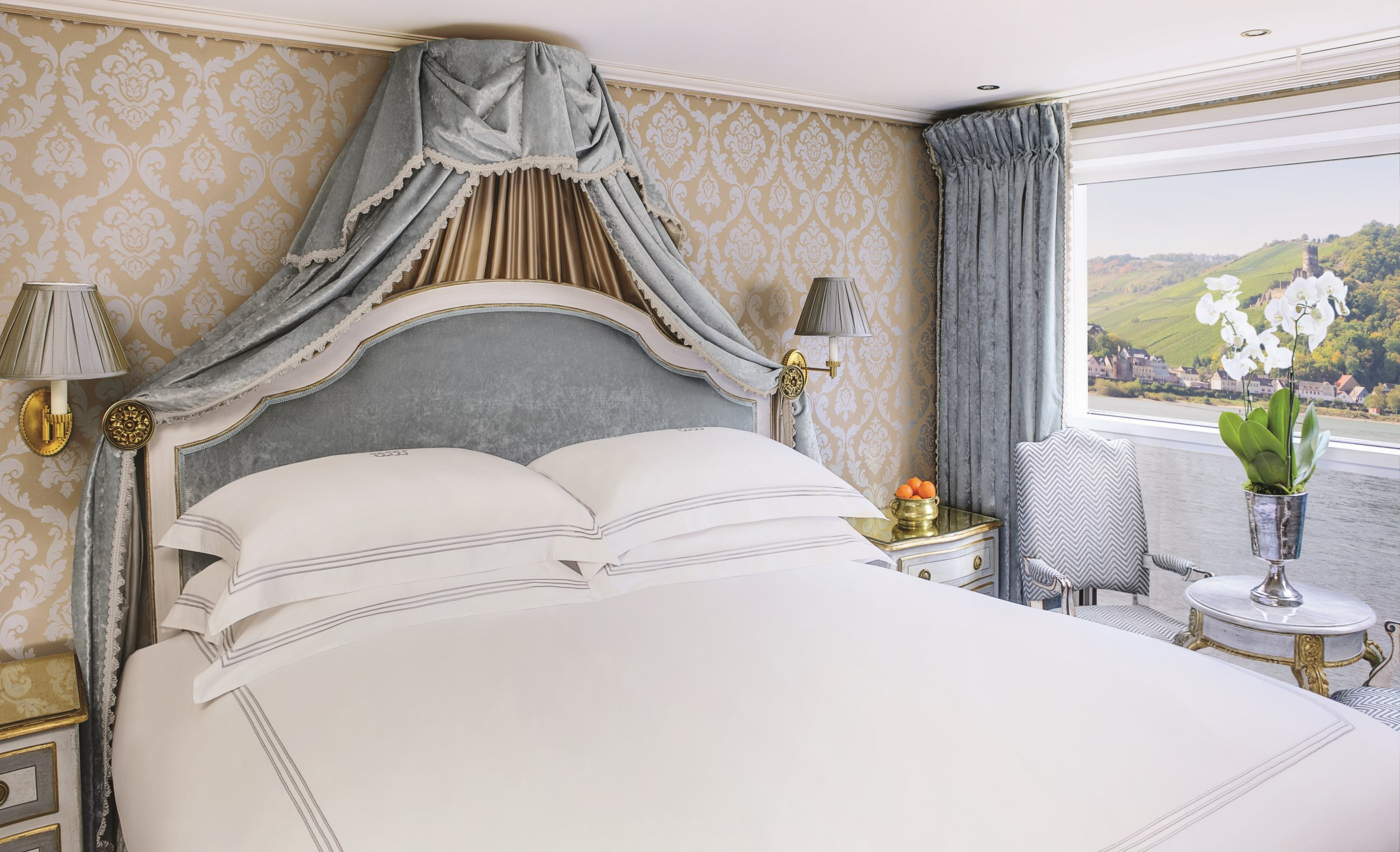 UNIWORLD Boutique River Cruises SS Maria Theresa Accommodation Stateroom Category 3 1.jpg