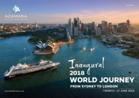 Azamara 2018 World Journey