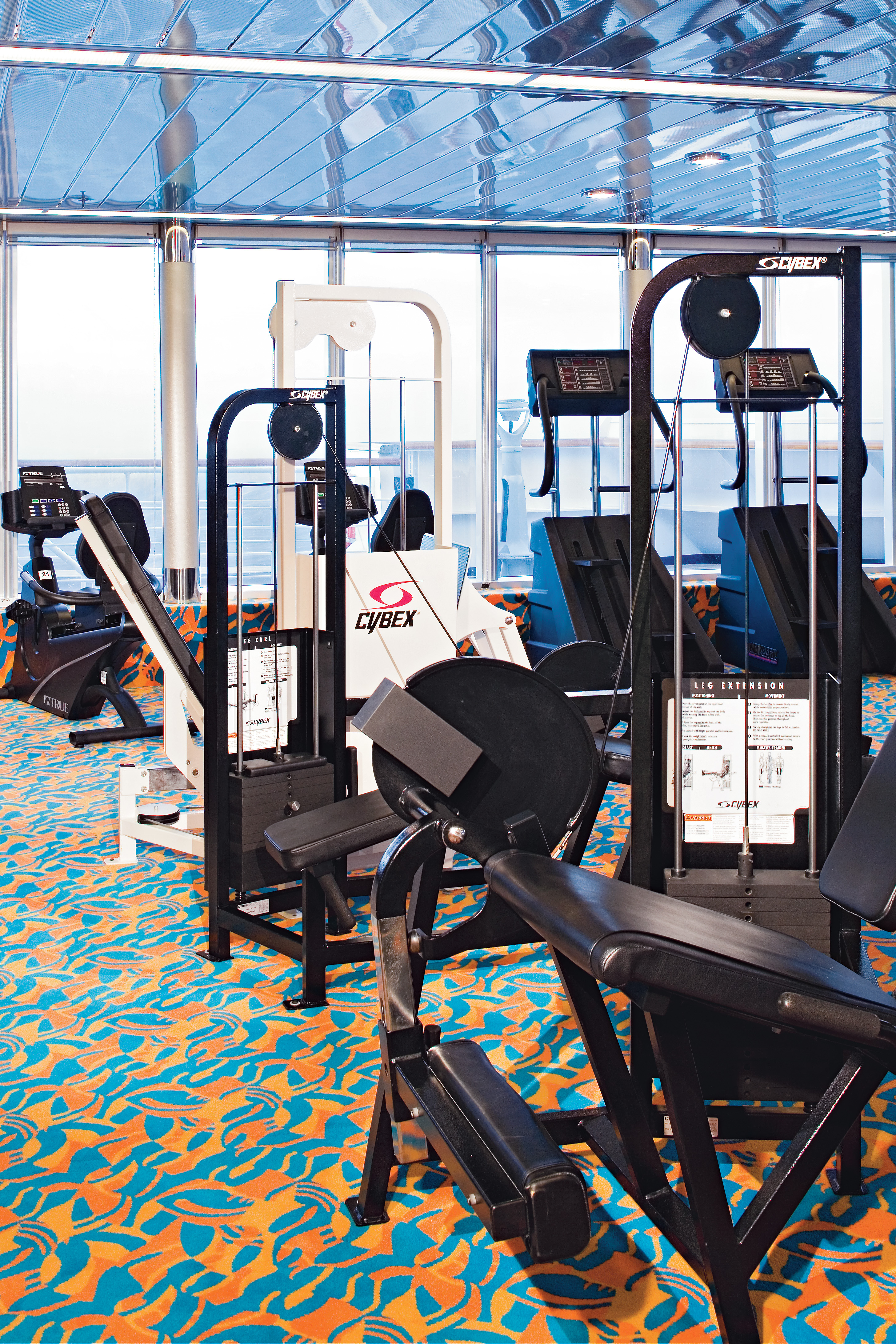 Holland America Line Rotterdam Interior Fitness Centre 2.jpg
