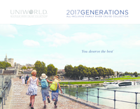 Uniworld Boutique River Cruises 2017 Generations Family River Cruise Collection