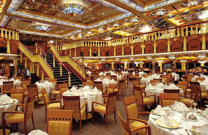 Costa Fortuna Michelangelo 1965 Restaurant 2.jpg