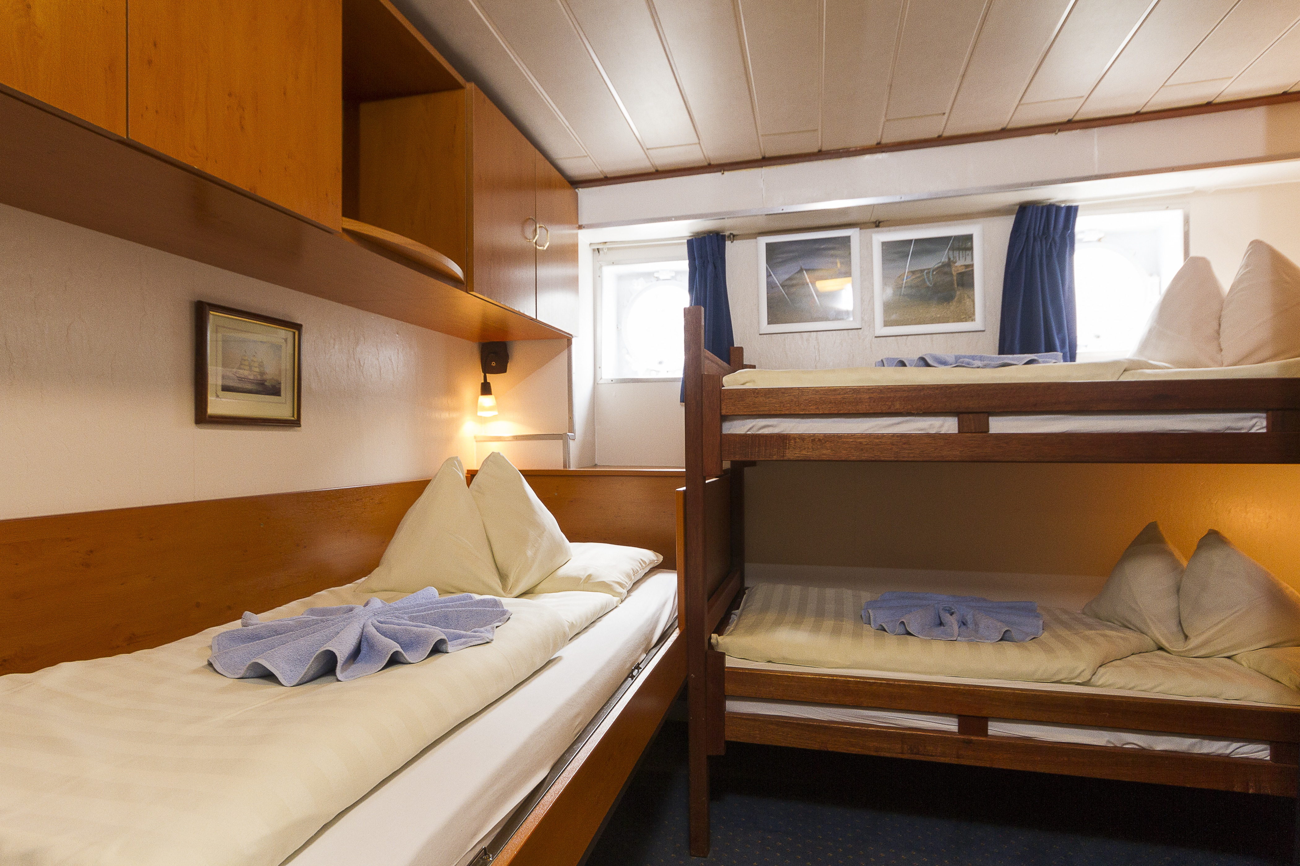 The River Cruise Line MPS Lady Anne Accommodation Passenger Deck Cabin 3 Berth.jpg