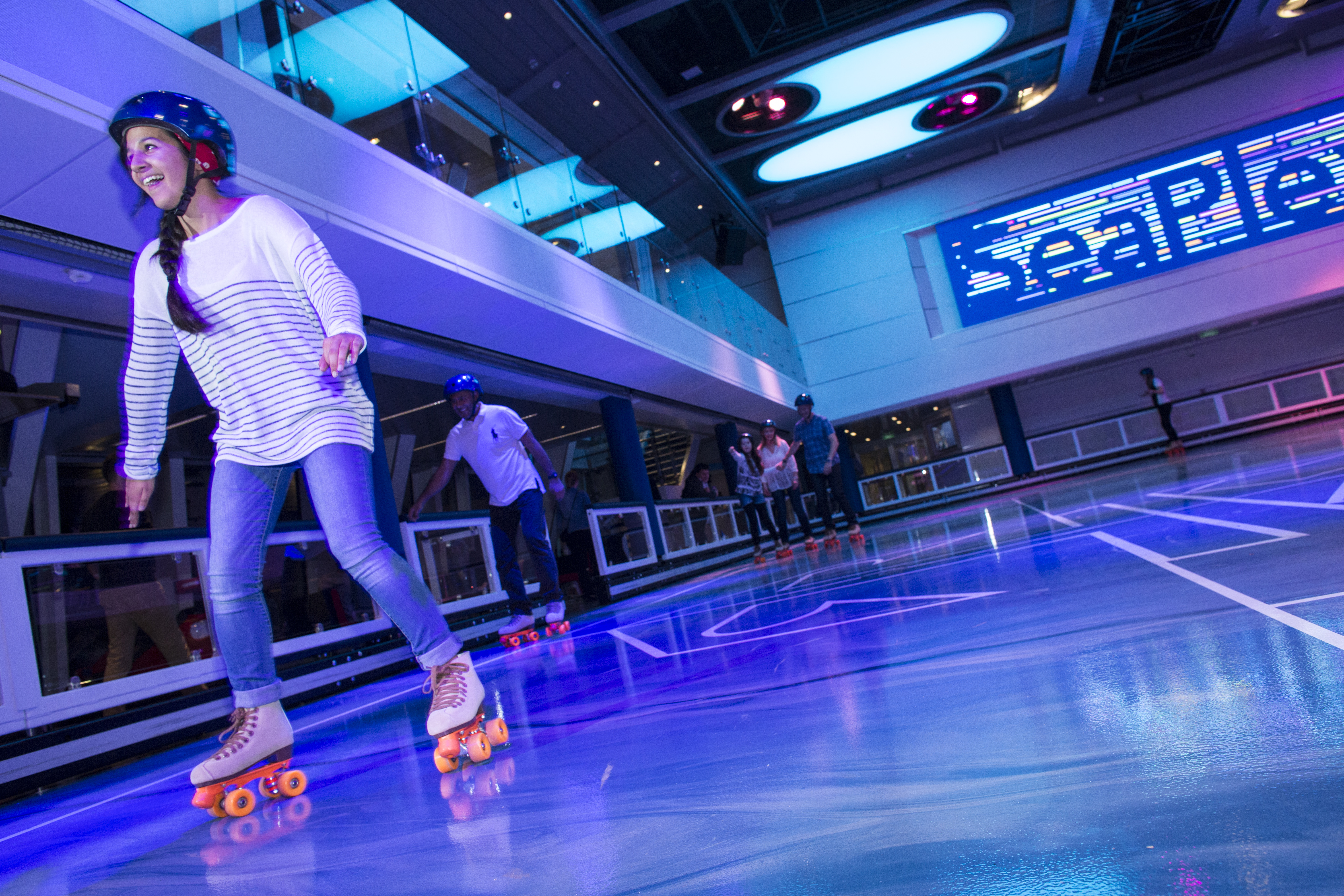 Royal Caribbean Anthem of the Seas Interior Seaplex Rollerskating 1.jpg
