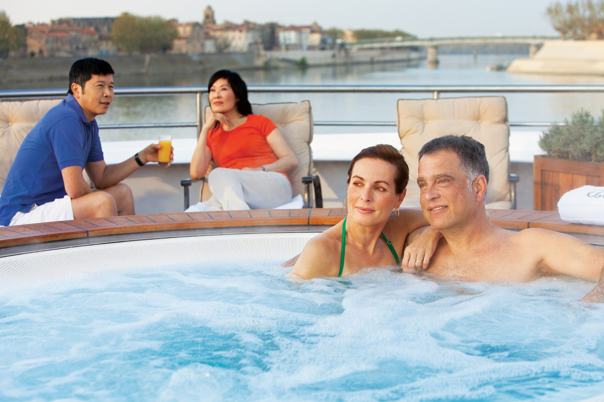 UNIWORLD Boutique River Cruises River Royale Exterior Whirlpool on Sundeck.jpg