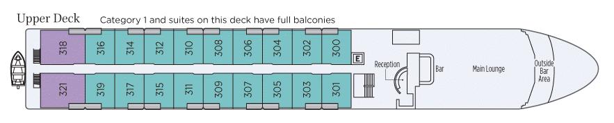 Uniworld Queen Isabel Deck Plan Upper Deck.png