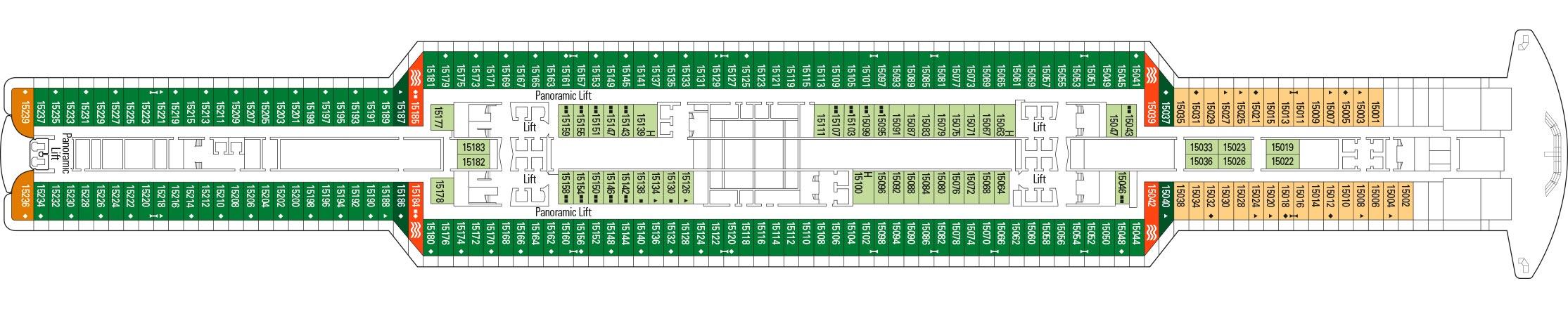 MSC Cruises MSC Seaview Deckplans Deck 15.jpg