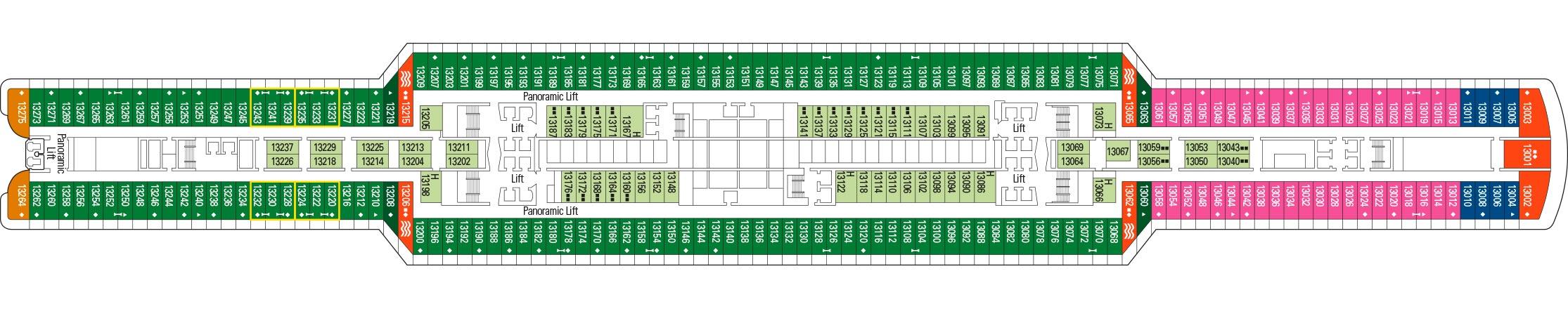 MSC Cruises MSC Seaview Deckplans Deck 13.jpg