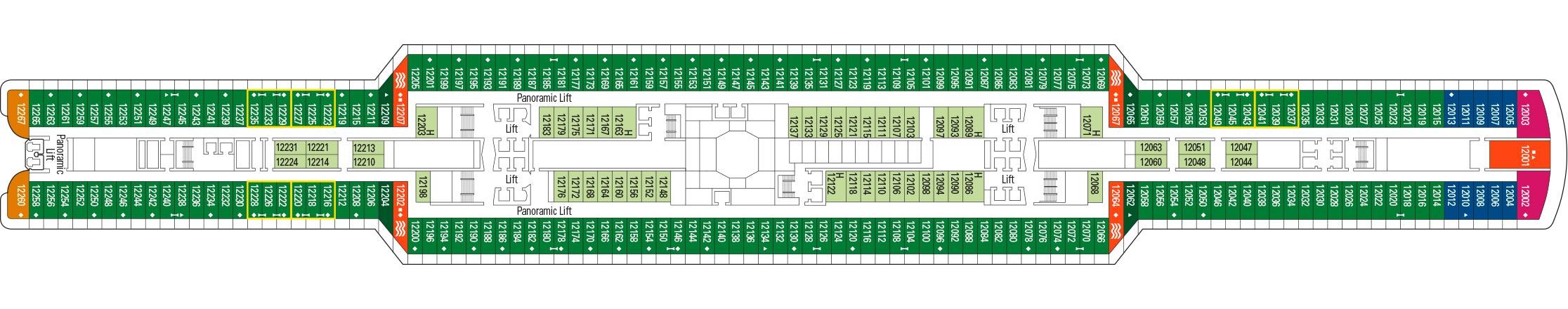 MSC Cruises MSC Seaview Deckplans Deck 12.jpg