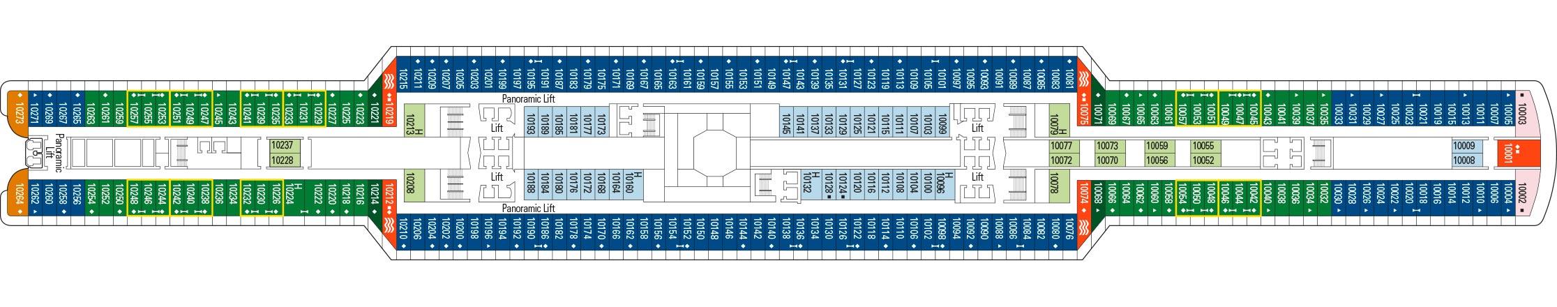 MSC Cruises MSC Seaview Deckplans Deck 10.jpg