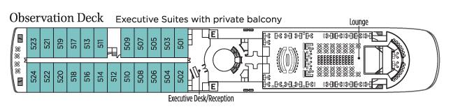 UNIWORLD Boutique River Cruises Century Legend Deckplans Observation Deck.png